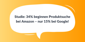Studie Produktsuche Amazon