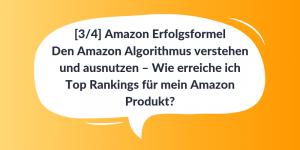 Den Amazon Algorithmus verstehen und ausnutzen