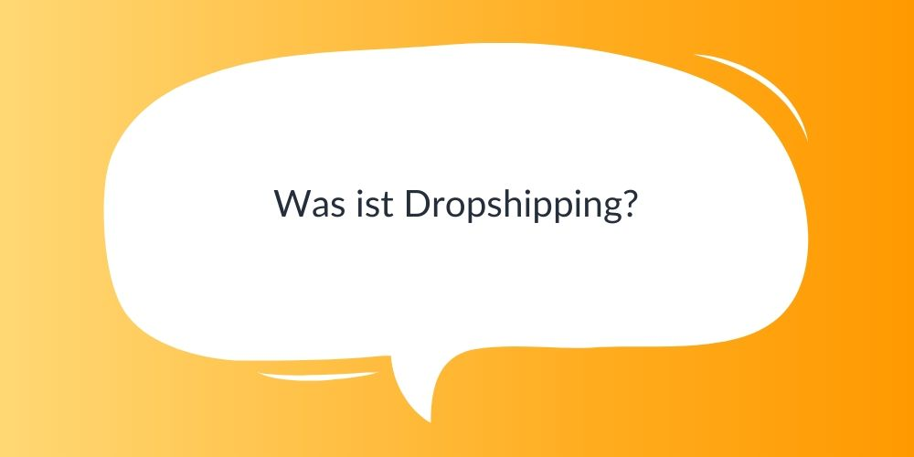 Was ist Dropshipping?